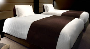 ホテルのベッドやベッドカバーをご家庭にも