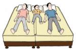 大きいベッド,大きなサイズのマットレス,